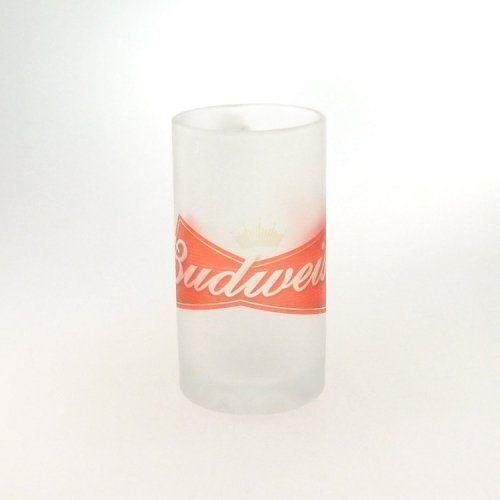 Caneca Vidro Chopp Budweiser 500ml