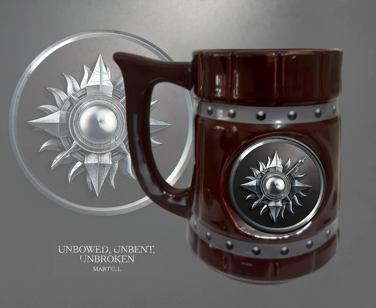 Caneca Viking Casa Martell: Game of Thrones 700 ML - EV