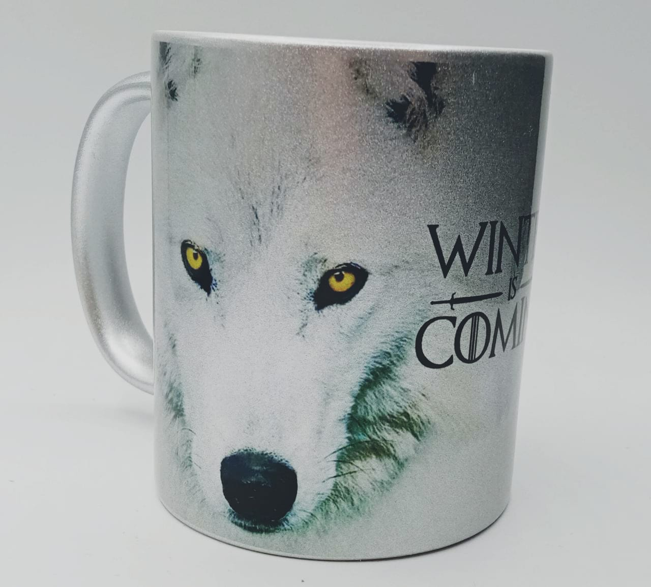 Caneca Winter Is Coming (Cinza)