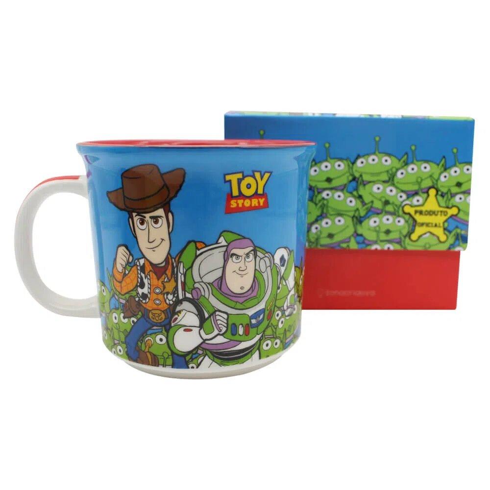Caneca Woody e Buzzlight: Toy Story - (400ml)