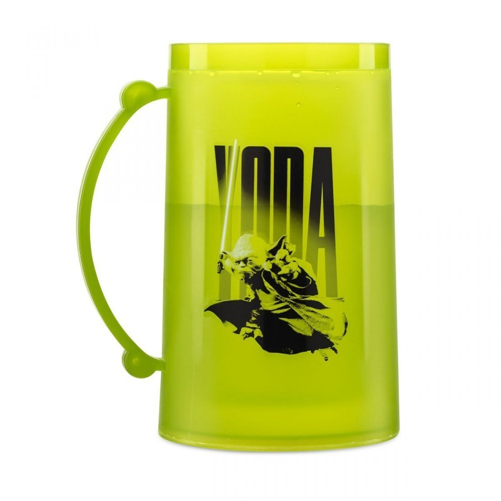 Caneca Congelável Yoda: Star Wars Força