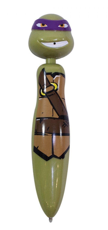 Caneta Formato Donatello: Tartarugas Ninja