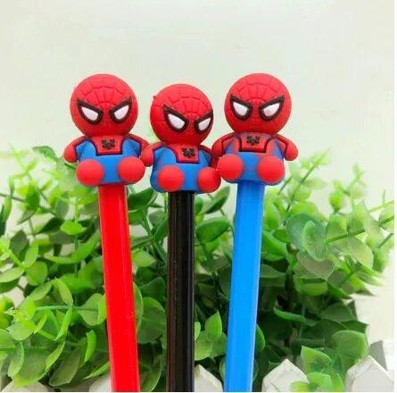 Caneta Gel Homem Aranha Spider-Man (Sortidos)