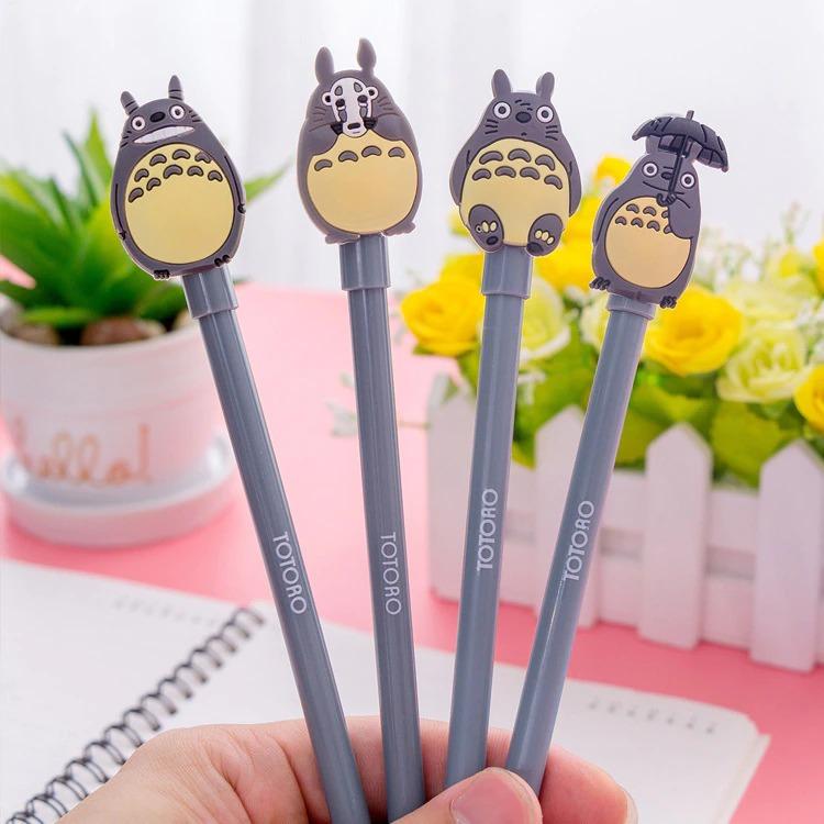 Caneta Gel Totoro Com Guarda Chuva Meu Amigo Totoro (Tinta Preta) Studio Ghibli - Anime Mangá