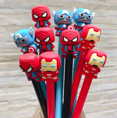 Caneta Super-Heróis (3 Modelos)