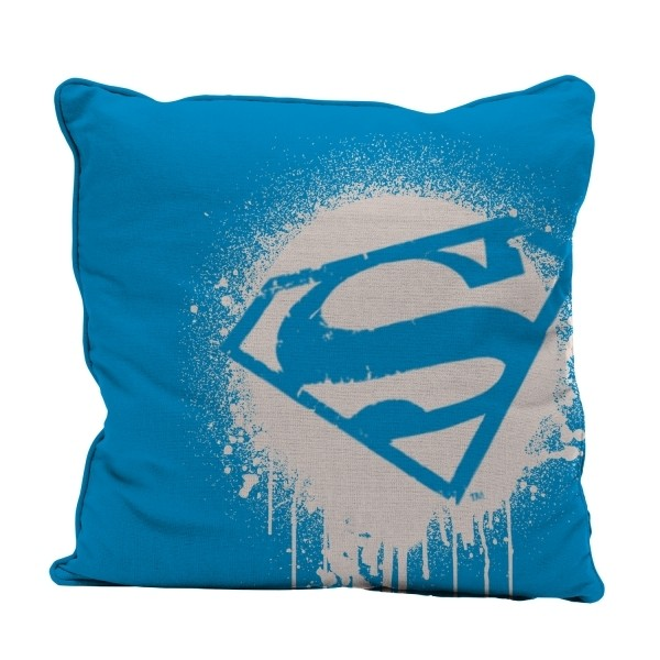 Almofada Poliester DC Superman Logo Grafit Art
