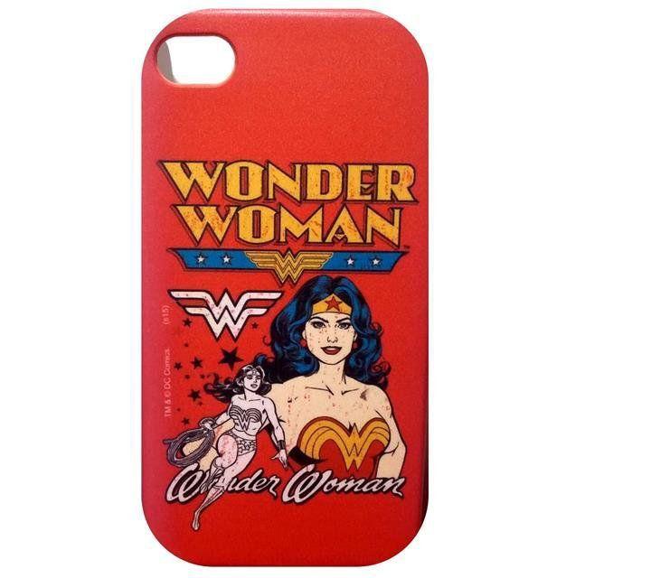 Capa Celular Wonder Woman (Mulher Maravilha) - Iphone 4S