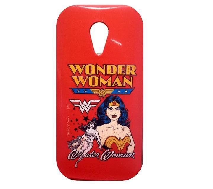 Capa Celular Wonder Woman (Mulher Maravilha) - Moto G (2° Geração)