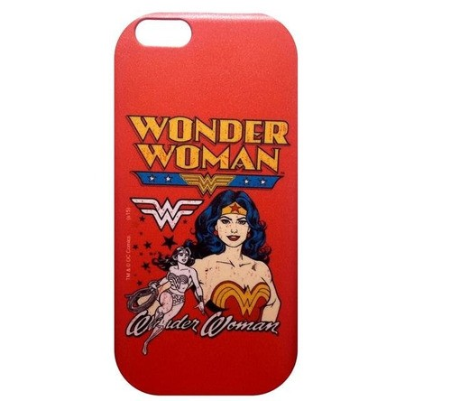 Capa Celular Wonder Woman (Mulher Maravilha) - Iphone 6