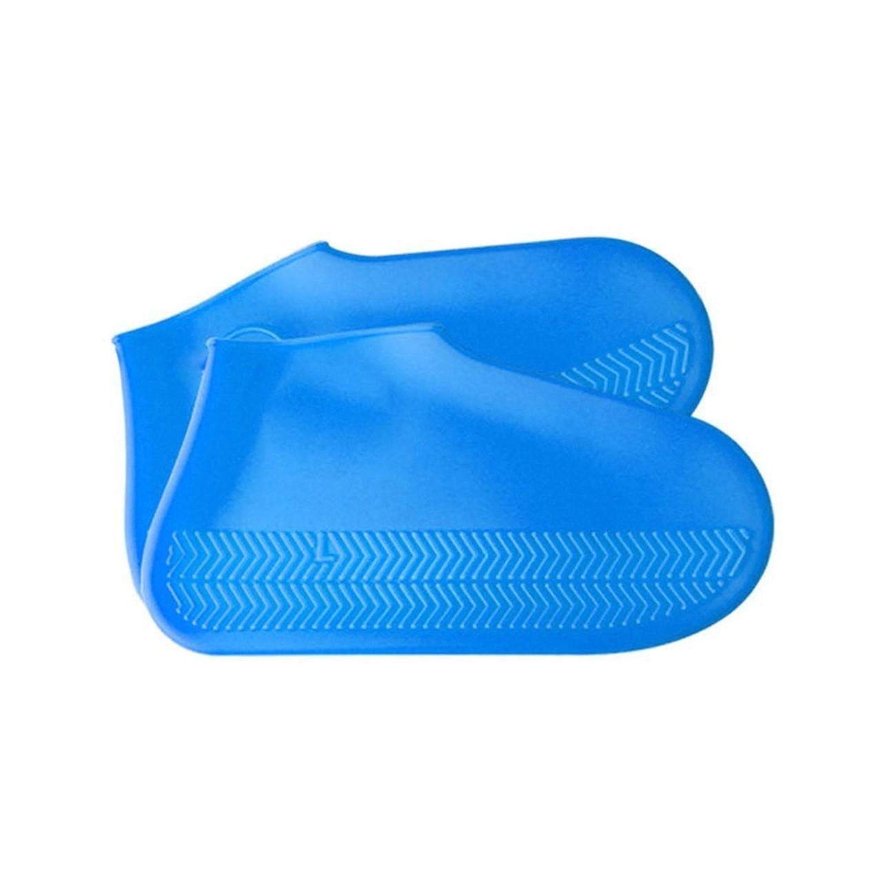 Capa Impermeável Para Sapatos (Azul)