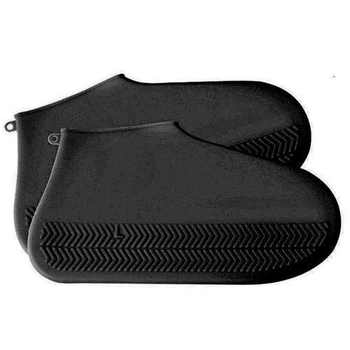 Capa Impermeável Para Sapatos (Preto)
