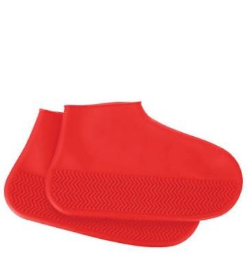 Capa Impermeável Para Sapatos (Vermelho)