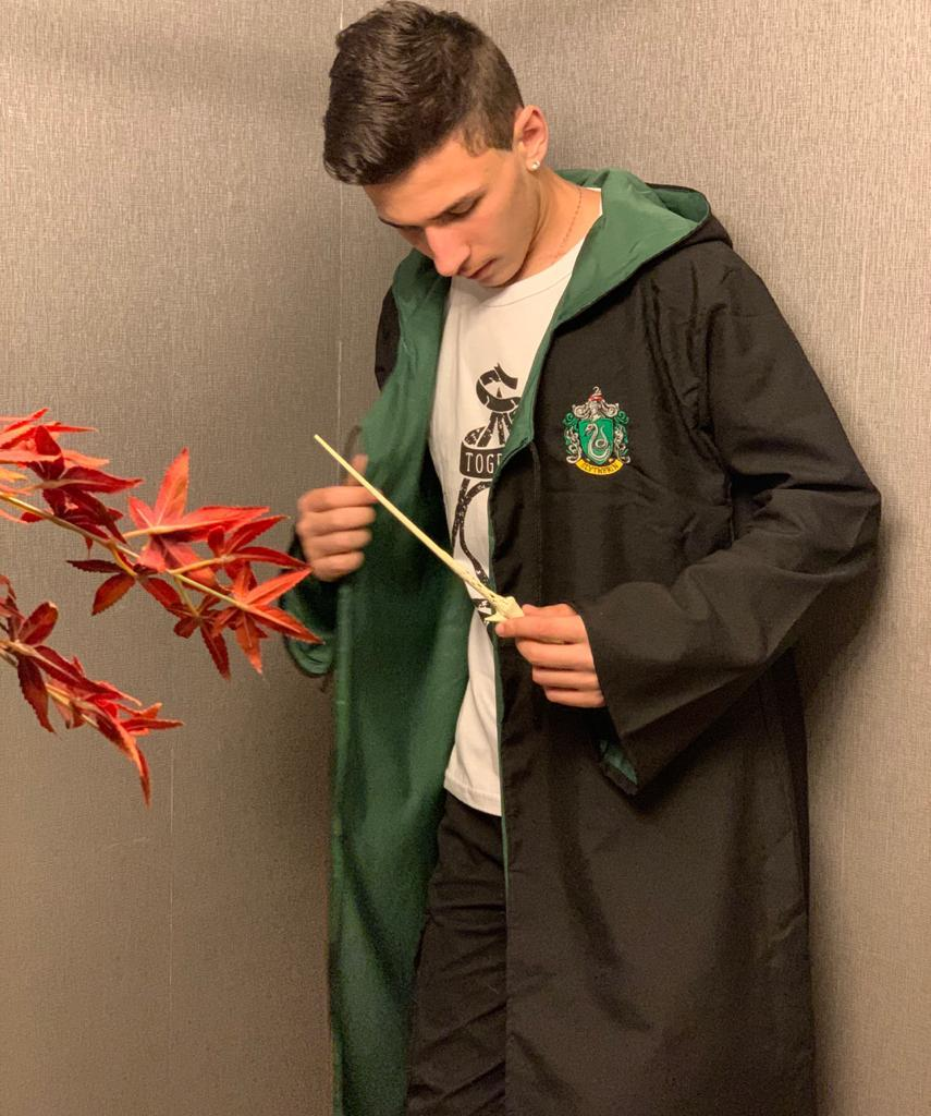 Capa Sonserina (Slytherin): Harry Potter
