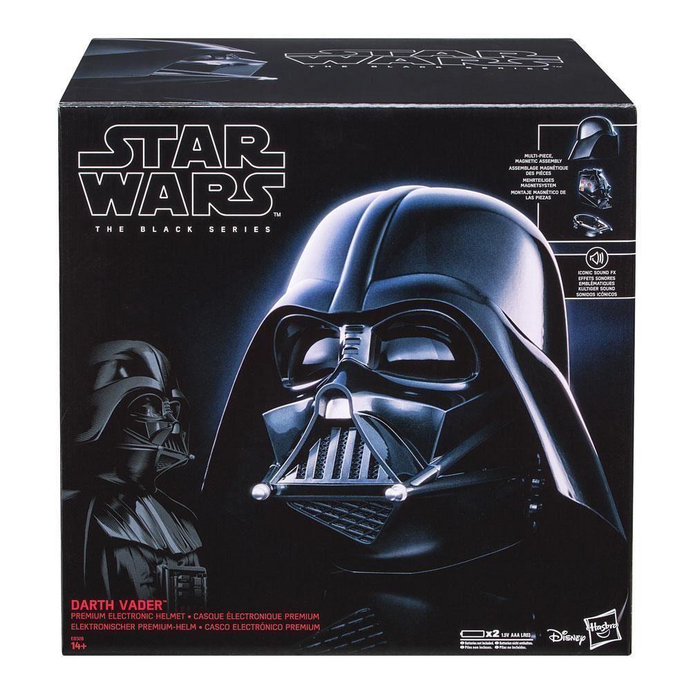 Capacete Eletrônico Darth Vader: Star Wars The Black Series - Hasbro