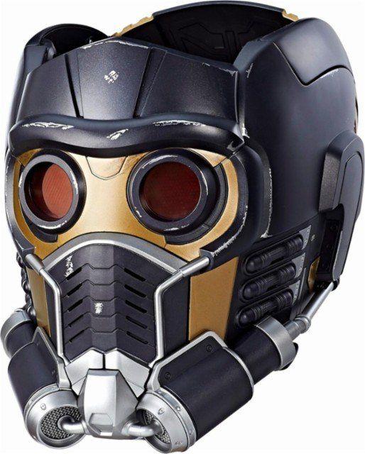 Capacete Eletrônico Senhor das Estrelas (Star-Lord):Guardiões da Galáxia Marvel Legends Series - Hasbro