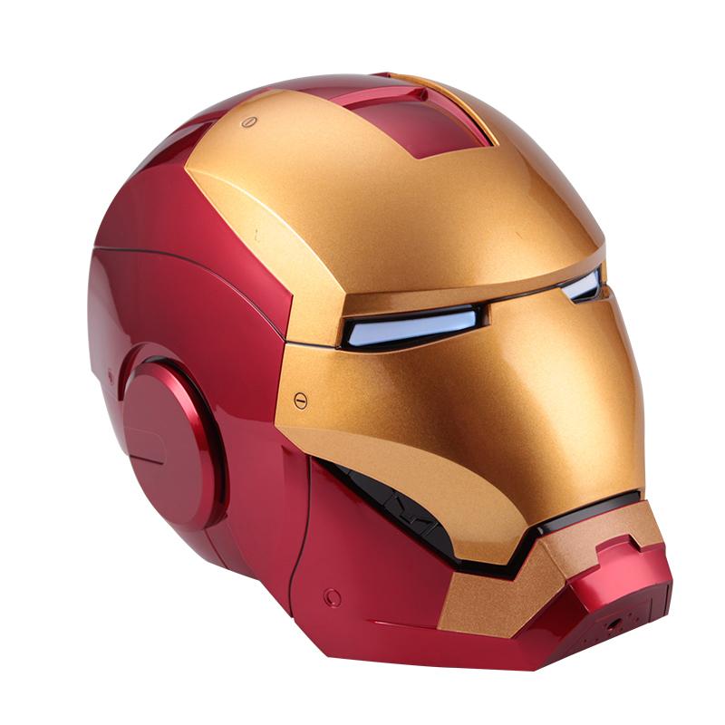 Capacete Inteligente Comando De Voz Jarvis LED Escala 1/1 Mark 7: Os Vingadores The Avengers Marvel - Auto King - MKP