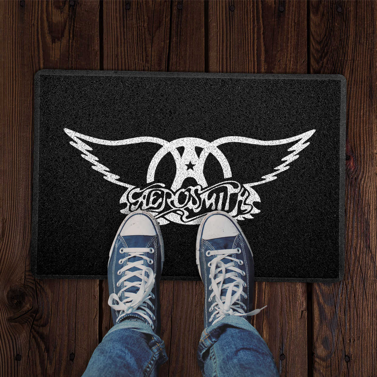 Capacho Aerosmith Preto