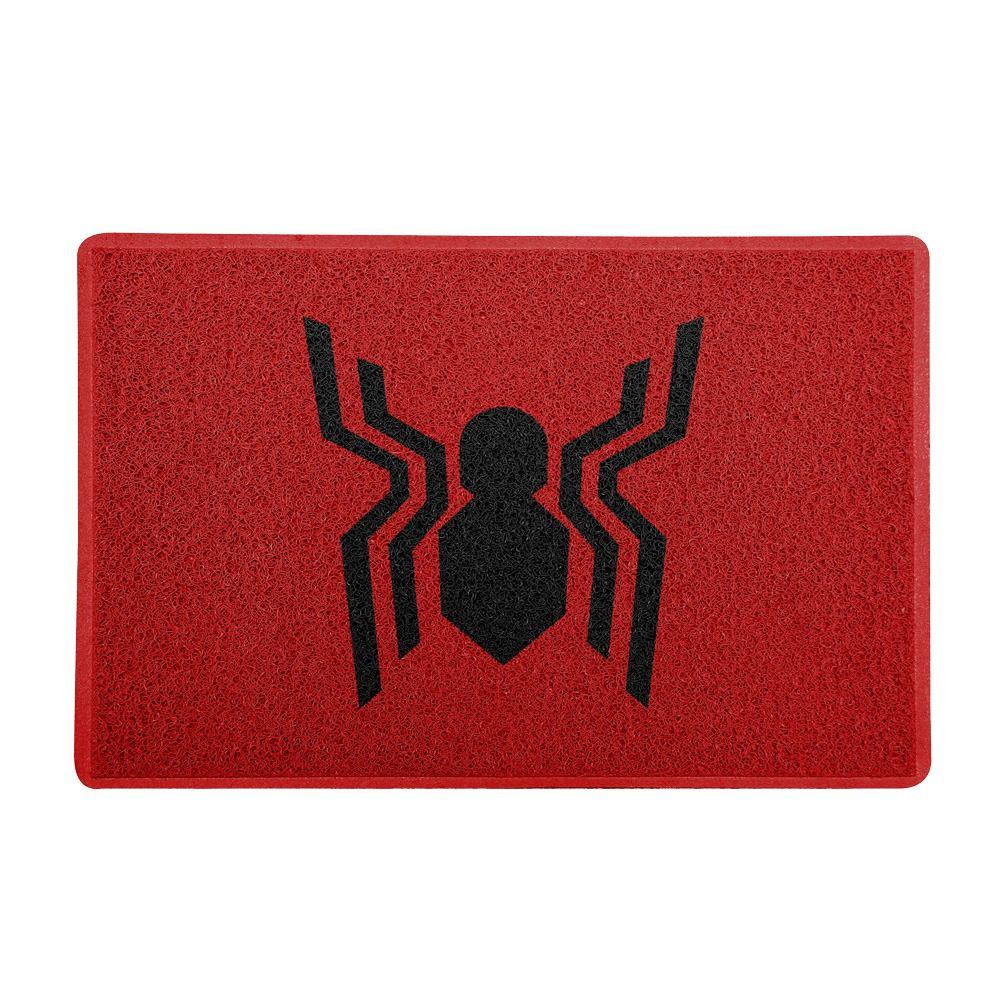 Capacho Aranha (Frente): Homem Aranha De Volta Ao Lar