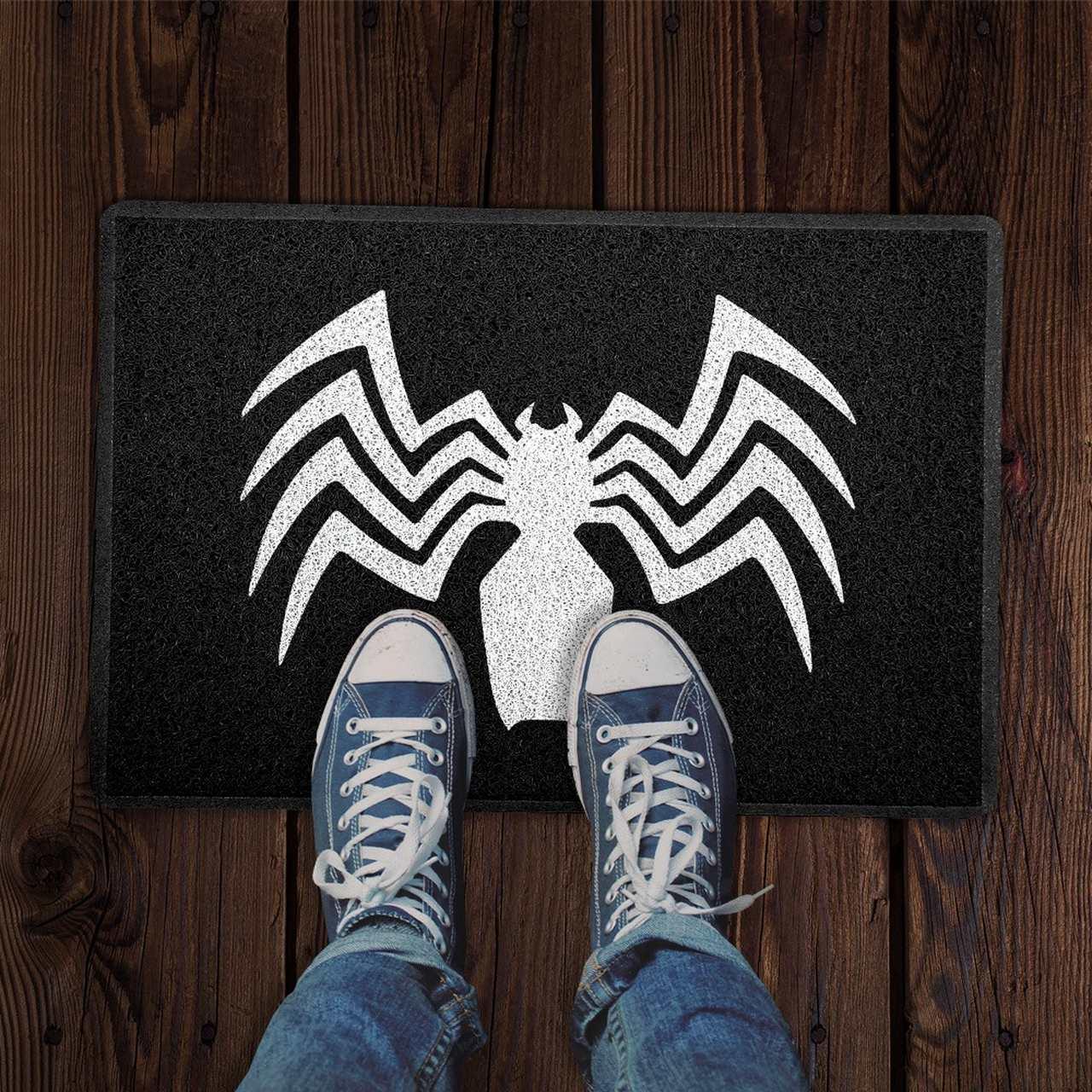 Capacho Aranha (Frente): Venom (Marvel Comics)
