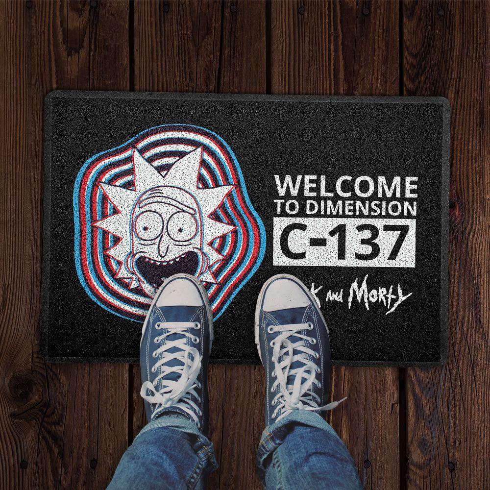 Capacho Bem Vindos A Dimensão C-137 Welcome To Dimension C-137: Rick e Morty - EV