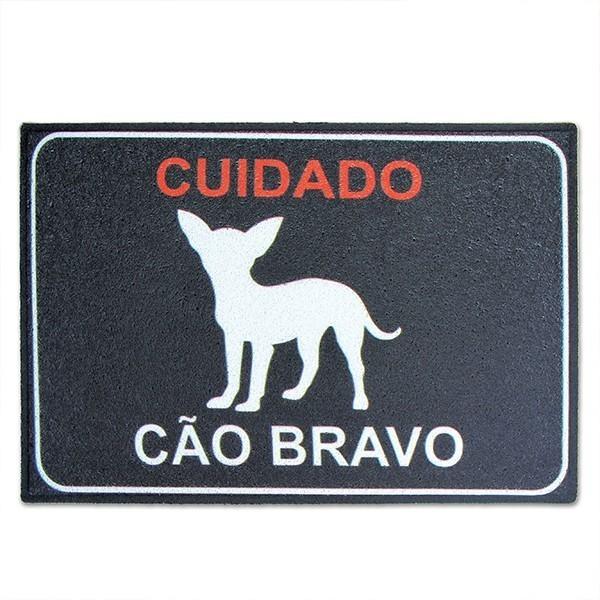 Capacho Cão Bravo PRESENTE E DECORAÇÃO GEEK
