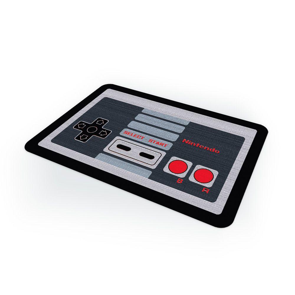 Capacho Tapete Controle Nintendo PRESENTE E DECORAÇÃO GEEK