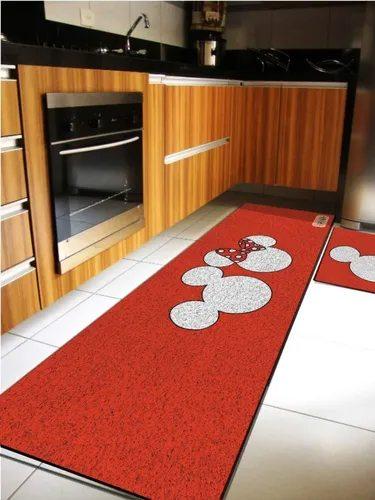 Tapete Cozinha Mickey e Minnie - EV