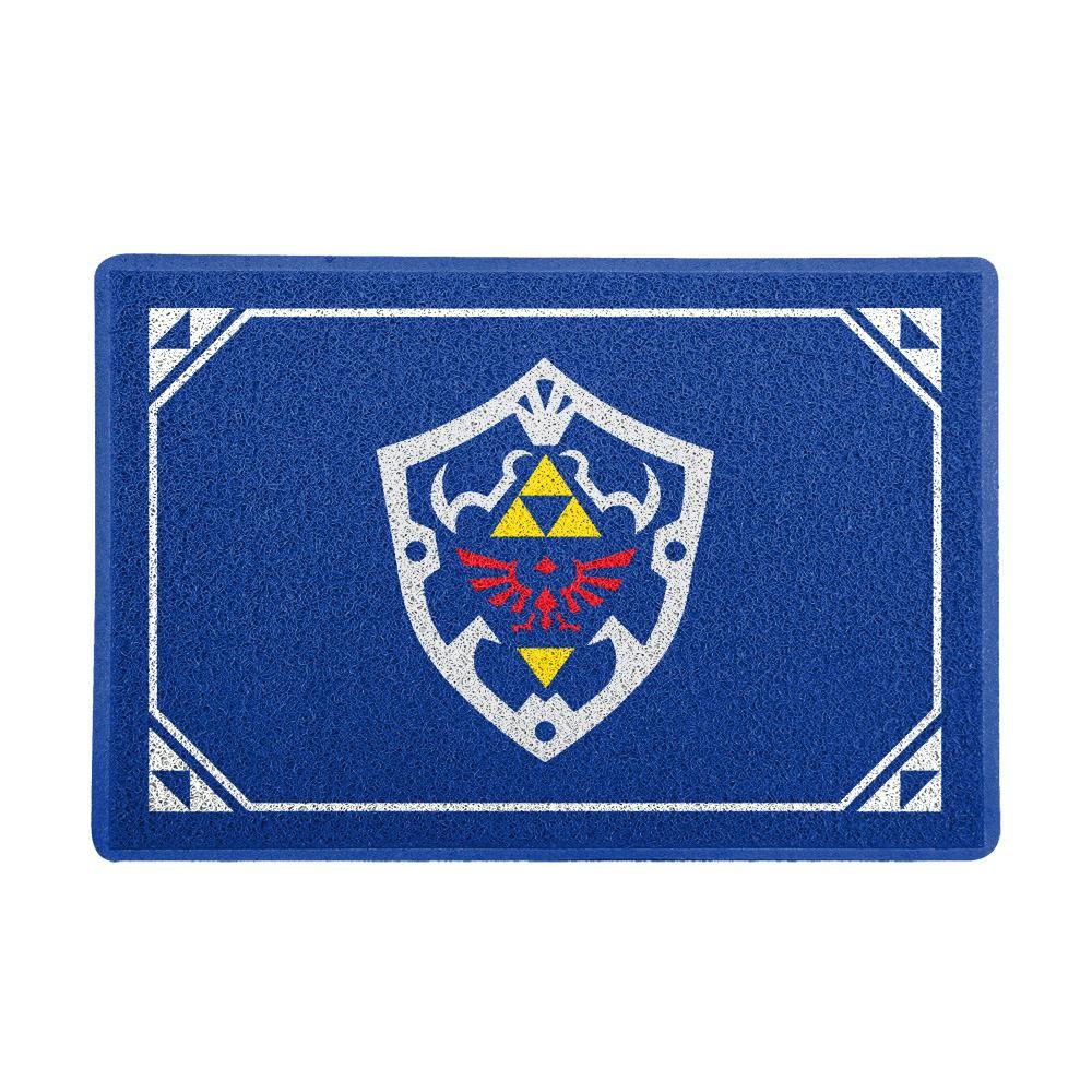 Capacho Escudo Hylian: The Legend of Zelda PRESENTE E DECORAÇÃO GEEK