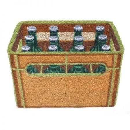 Capacho Fibra de Coco Beer Crate PRESENTE E DECORAÇÃO GEEK