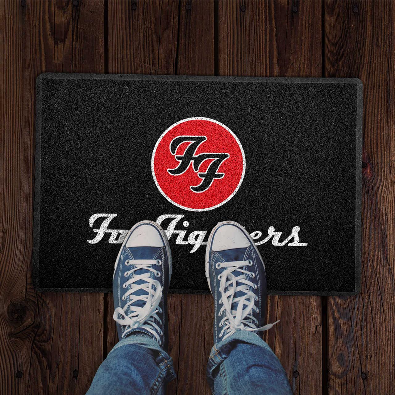 Capacho Foo Fighters PRESENTE E DECORAÇÃO GEEK