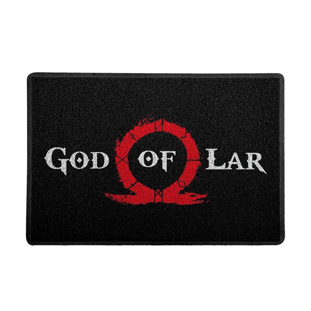 Capacho: God Of Lar God Of War ( Preto )