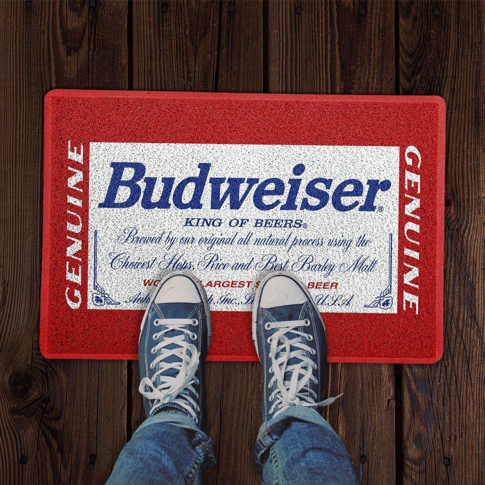Capacho Logo Cerveja Budweiser Genuine
