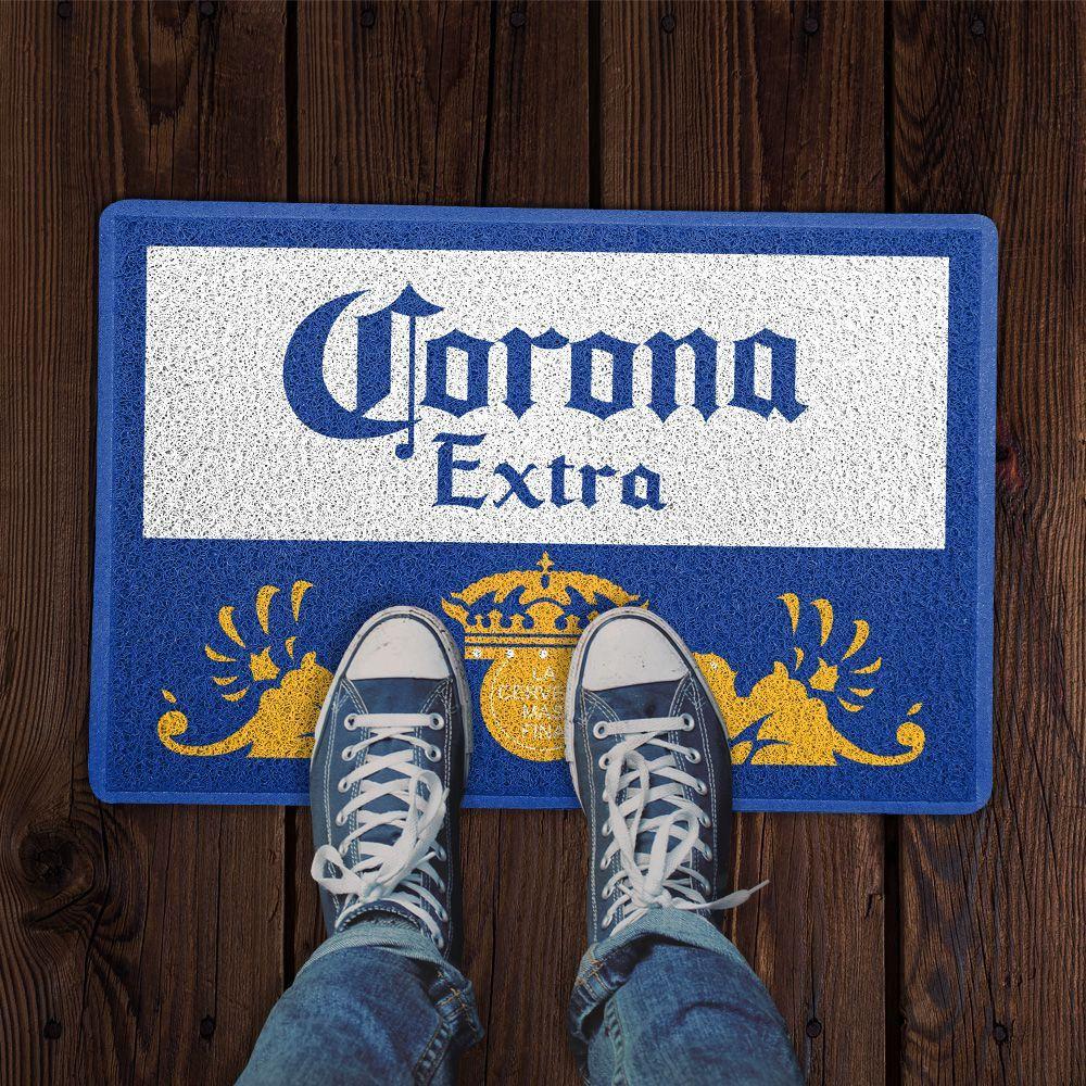 Capacho Logo Cerveja Corona Extra