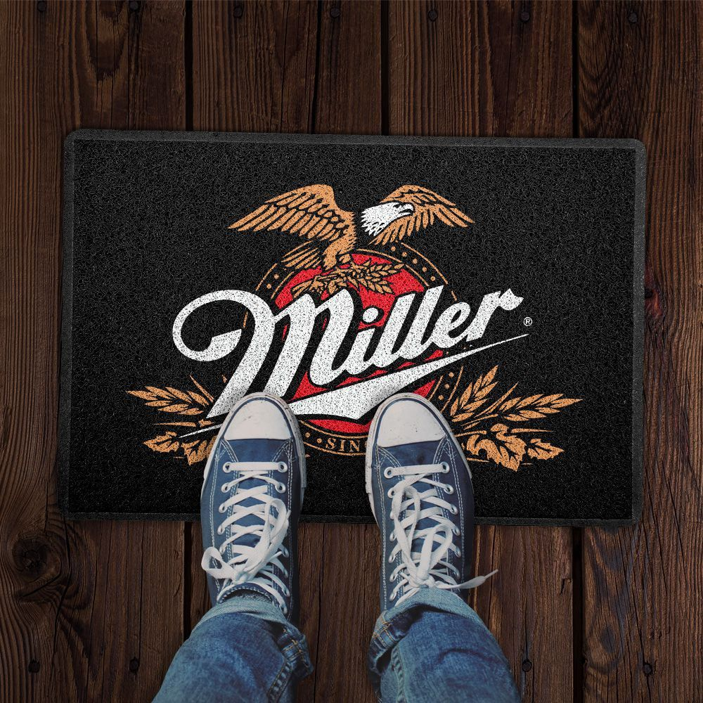 Capacho Logo Cerveja Miller