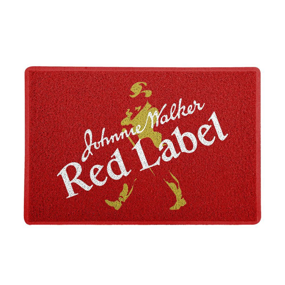 Capacho Logo Johnnie Walker Red Label