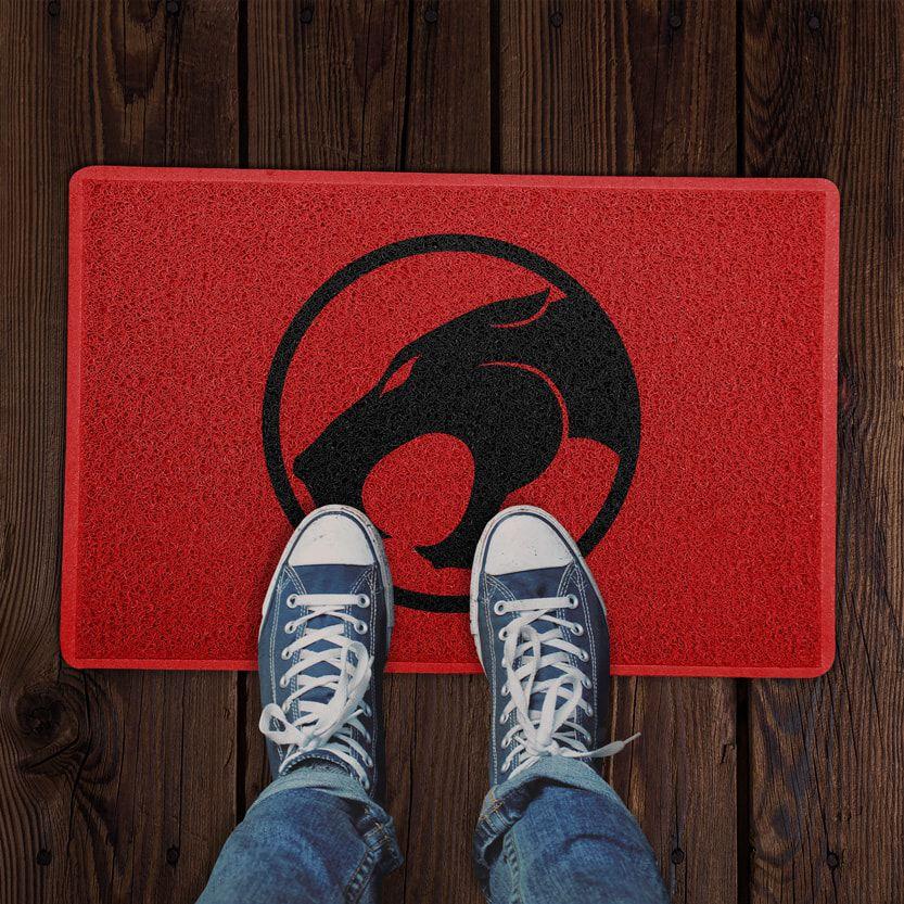 Capacho Logo Thundercats (Vermelho) PRESENTE E DECORAÇÃO GEEK