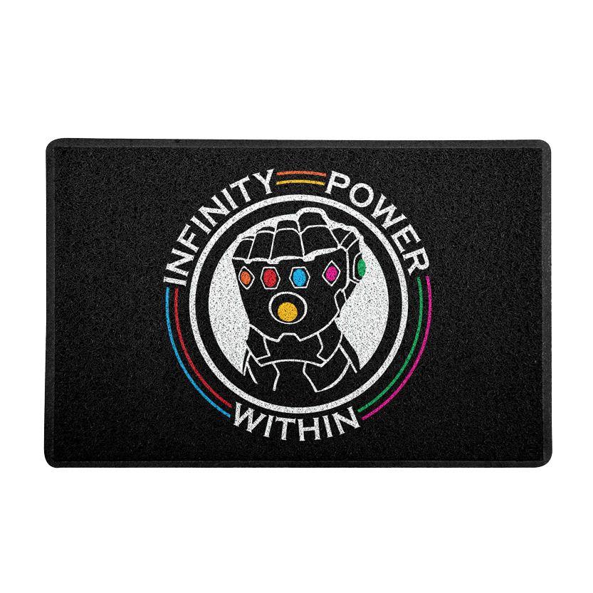 Capacho Manopla do Infinito (Infinity Power Within) Preto - Marvel