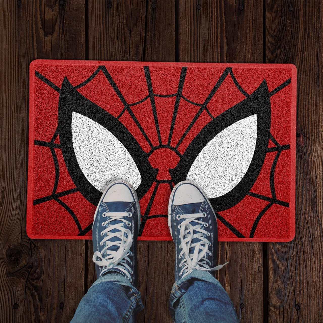 Capacho Máscara Homem-Aranha (Spider Man) - EV