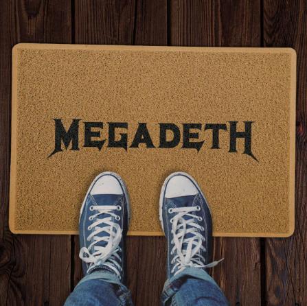 Capacho Megadeth COR: Marrom - EV