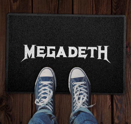 Capacho Megadeth COR: Preto