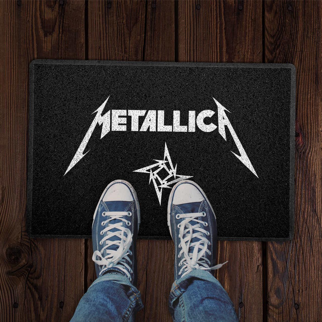 Capacho Metallica PRESENTE E DECORAÇÃO GEEK