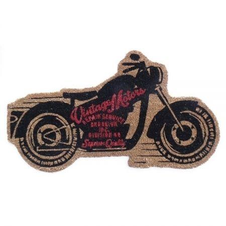 Capacho Motorcycle Black PRESENTE E DECORAÇÃO GEEK