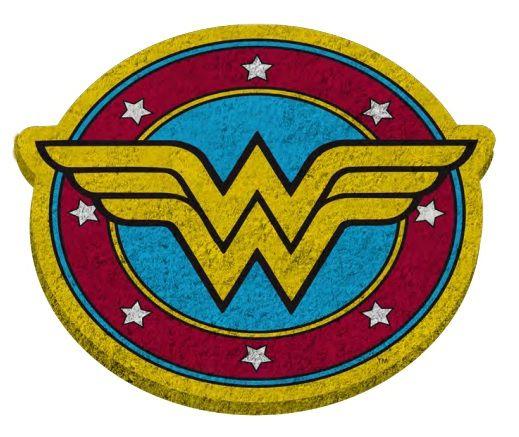 Capacho Mulher-Maravilha (Wonder Woman): DC Comics PRESENTE E DECORAÇÃO GEEK