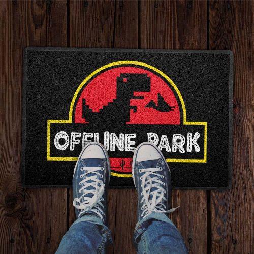 Capacho Offline Park T-Rex Running T-Rex Game Dinossauro Correndo Jurassic Park