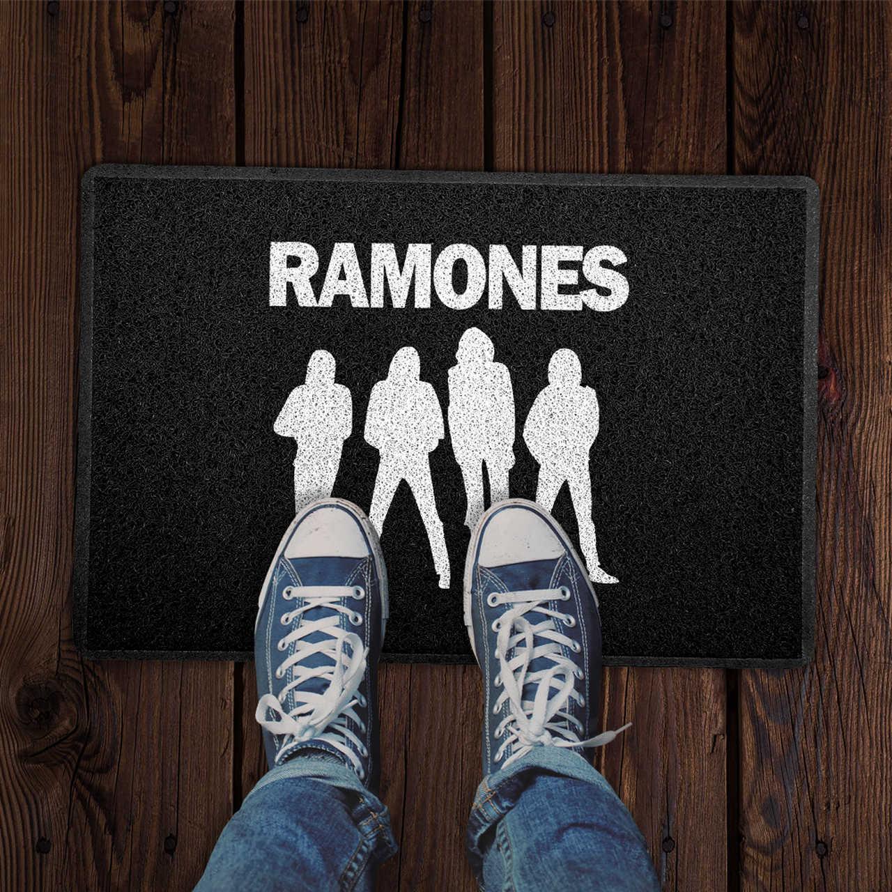 Capacho Ramones PRESENTE E DECORAÇÃO GEEK