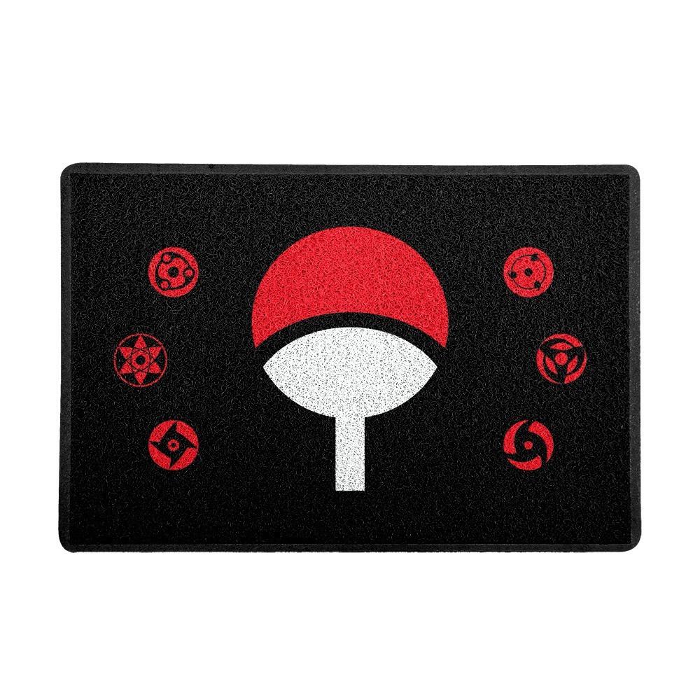 Capacho: Símbolo Clã Uchiha e Sharingans ( Naruto)