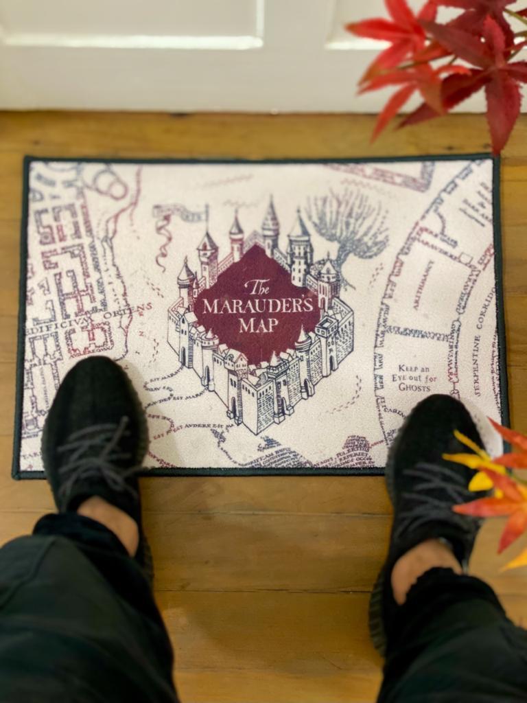 Capacho (Tapete) Mapa Escola de Magia