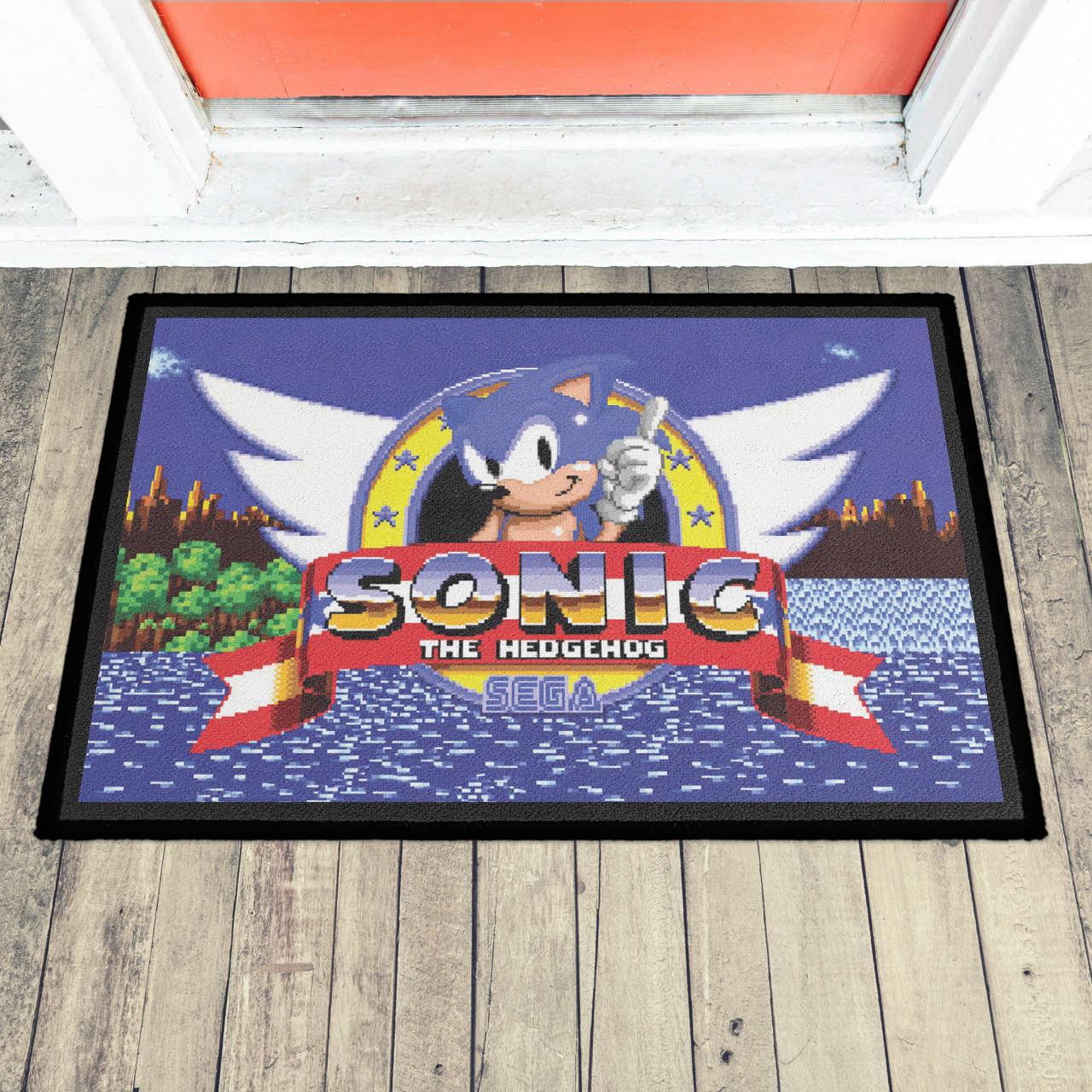Capacho (Tapete) Sonic the Hedgehog