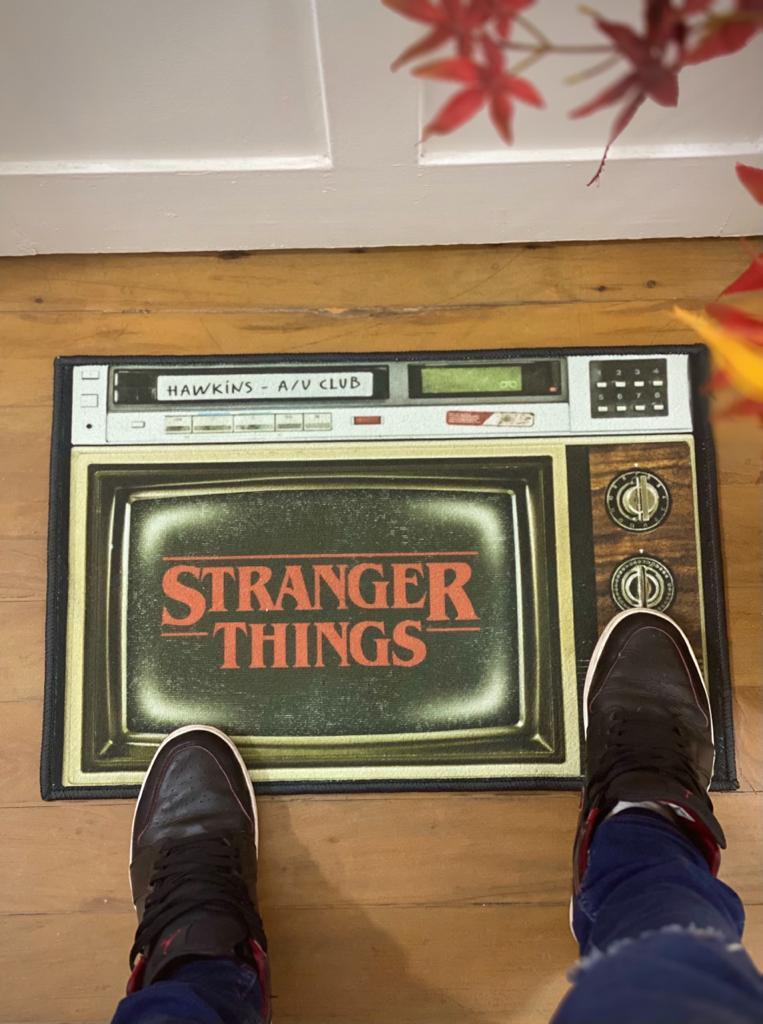 Capacho/Tapete: Stranger Things
