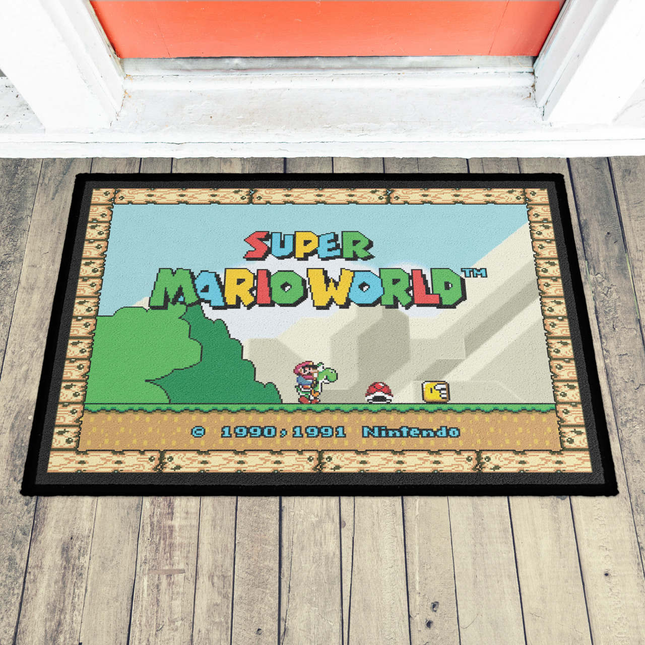 Capacho (Tapete) Super Mario World
